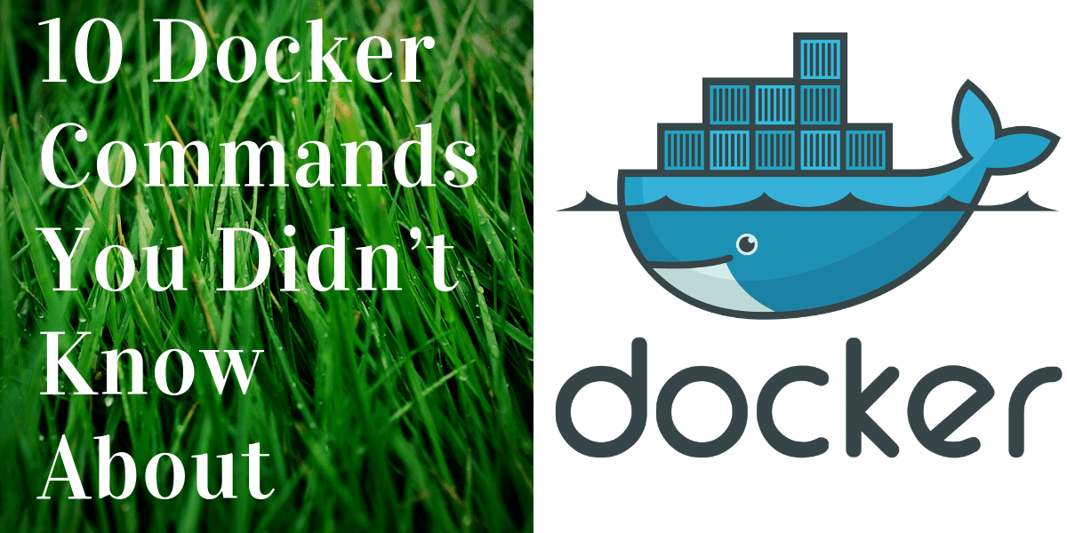 10 Docker Commands You Didn't Know About