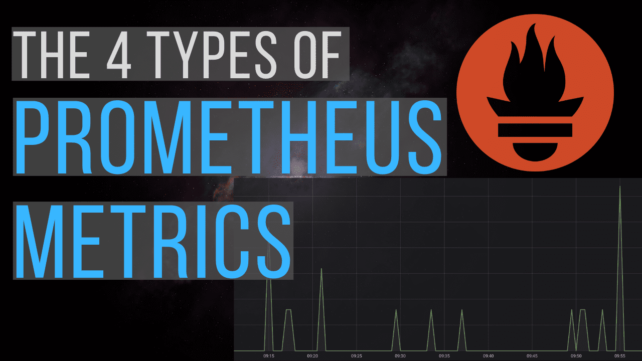 The 4 types of Prometheus metrics