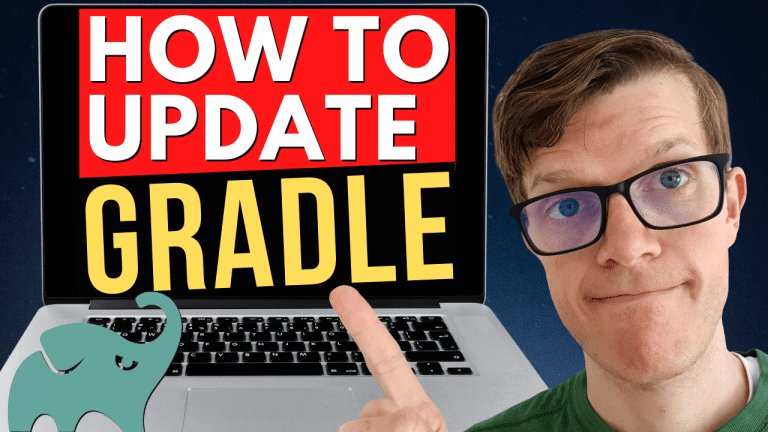 How to update Gradle