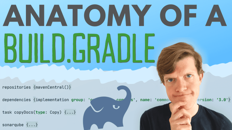 Anatomy of a Gradle build script: the key to understanding Gradle