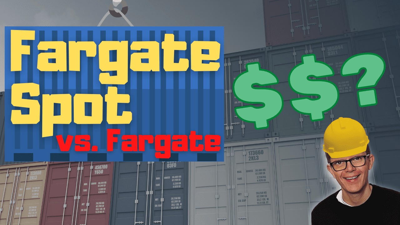 AWS Fargate Spot vs. Fargate price comparison