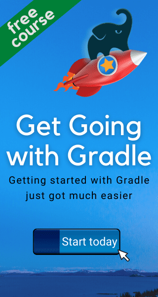Get going with Gradle course