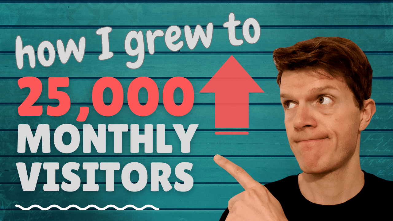 How I grew a programming blog to 25,000 monthly visitors in 12 months
