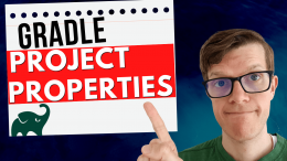 Gradle project properties best practices