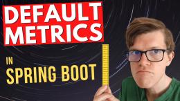Spring Boot default metrics